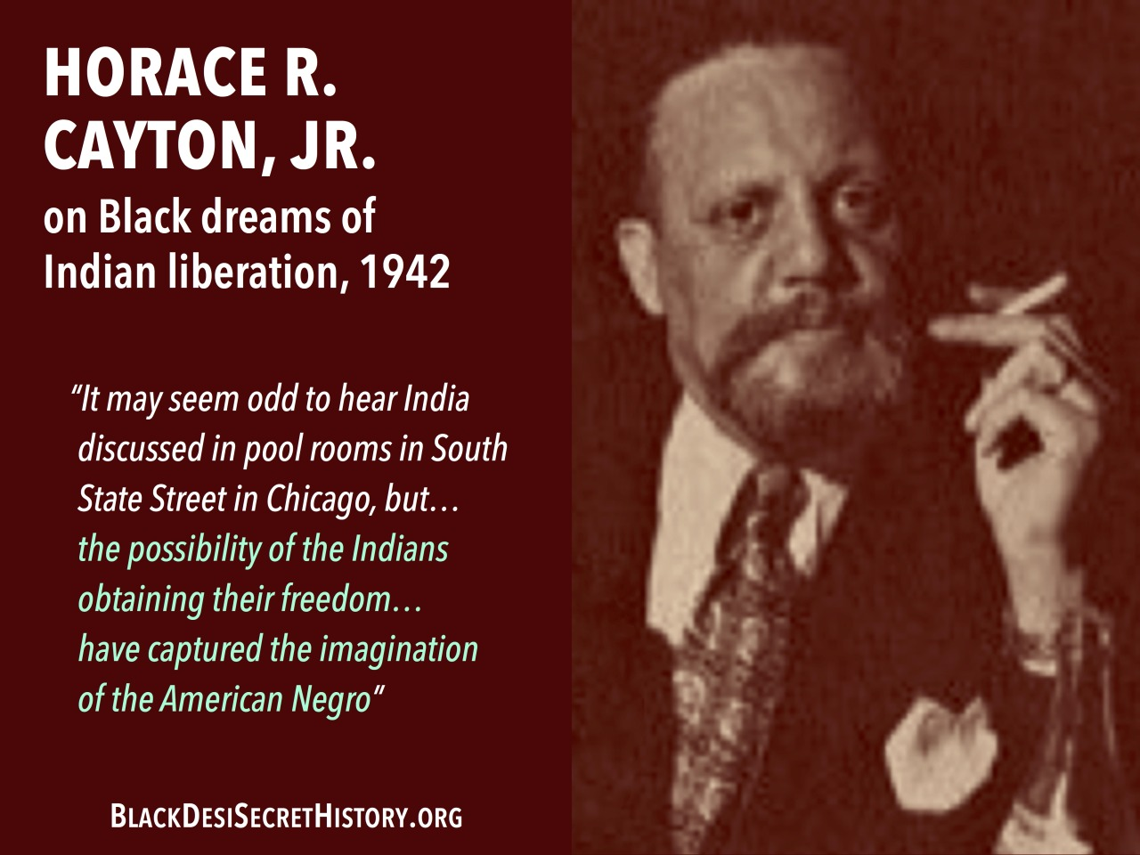 HORACE R. CAYTON, JR.